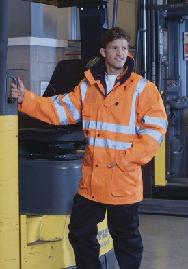 Yoko Hi Vis Multifunction Jacket