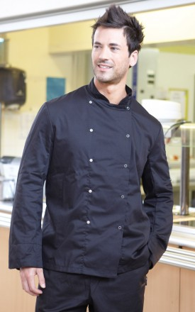 Dennys Economy Long Sleeve Chefs Jacket