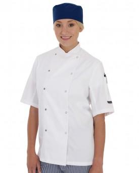 Dennys Short Sleeve Chefs Jacket (Shaped)