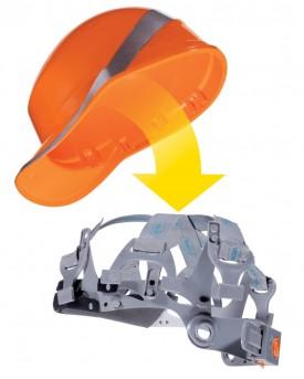 Venitex Hi-Vis Baseball Safety Helmet