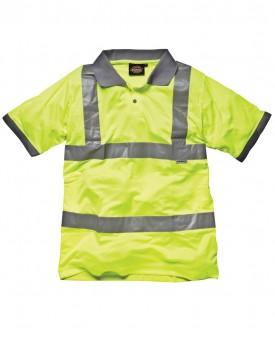 Dickies Hi-Vis Safety Polo Shirt