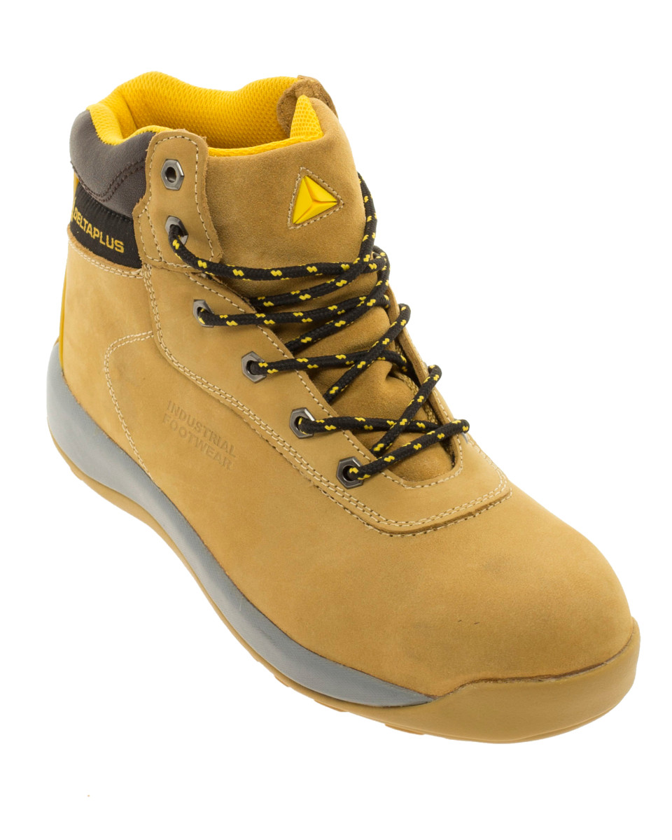 Delta Plus Nubuck Leather Safety Boot Delf Freezer