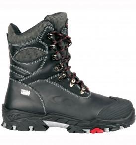 Bering premium laced boots with non metallic toe-cap