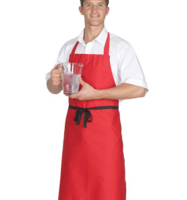 Dennys Low Cost Bib Apron Without Pockets