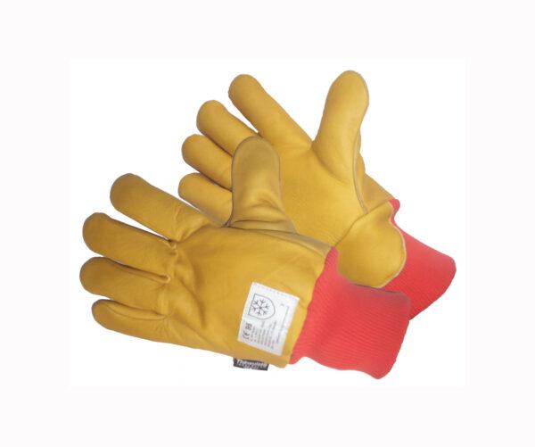 Hardwearing Full Leather Coldstore Gloves