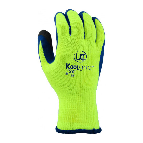 hi-viz therm grip glove