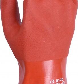 G06 pvc cold store gauntlet Glove