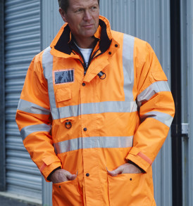 Hi Vis Multifunction Jacket