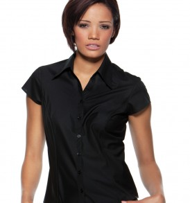 Ladies Cap Sleeve Bar Shirt