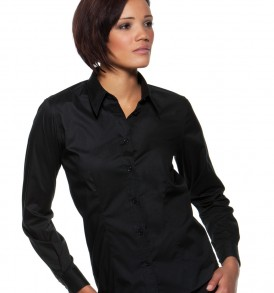 Ladies Long Sleeved Bar Shirt