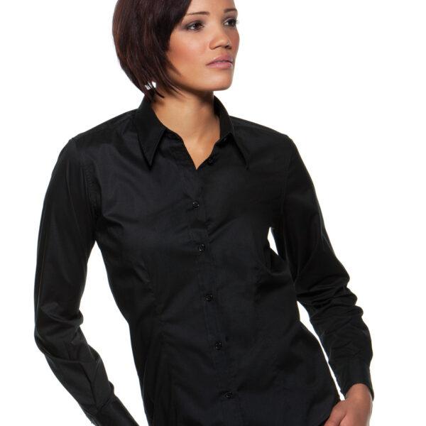 Ladies Long Sleeved Bar Shirt