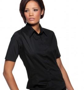 Ladies' Short Sleeve Bar Shirt
