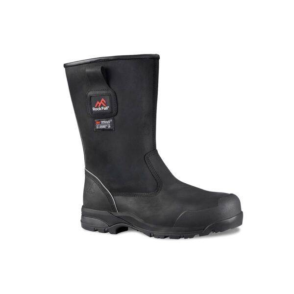 F04 Manitoba Zip Sided Safety Rigger Boots