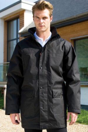 Result Workguard Mens Platinum Jacket