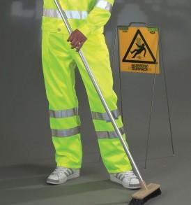 Yoko Hi-Vis Polycotton Working Trousers