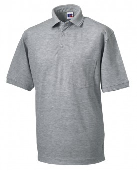 Russell Men's Heavy Duty Polo