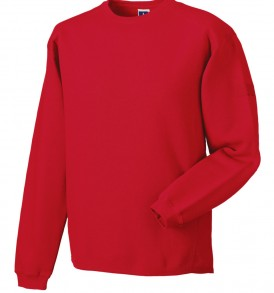 Russell Crew Neck Set In Sweatshirt