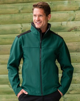 russell workwear softshell jacket