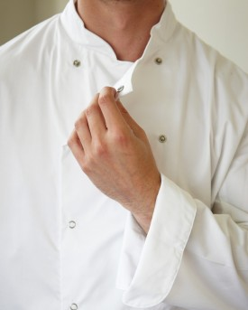 Dennys Long Sleeve Chefs Jacket (mens)