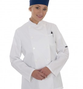Dennys Long Sleeve Chefs Jacket (womens)