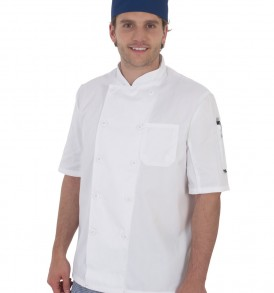 Dennys Short Sleeve Chefs Jacket