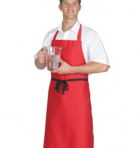 Dennys Polycotton Bib Apron (Without Pocket)