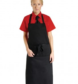 Dennys Economy Bib Apron With Pocket