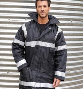 Result Work-Guard Sabre Stretch Jacket Mens Workwear Softshell Coat R302X