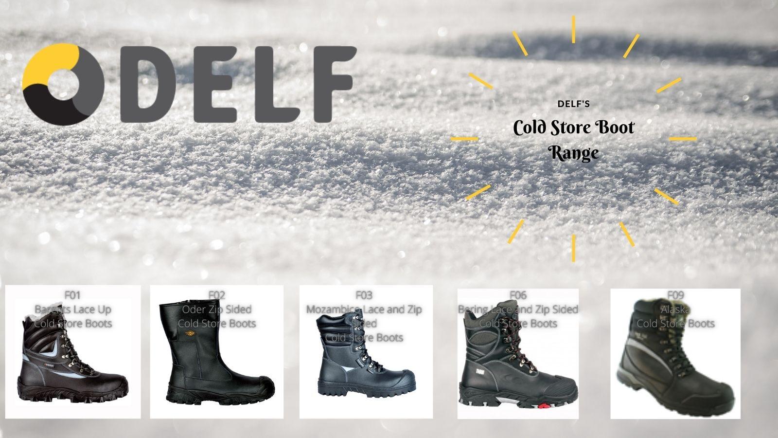 cold storage footwear