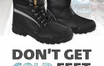 Rockfall Boots available from Delf Coldwear Solutions