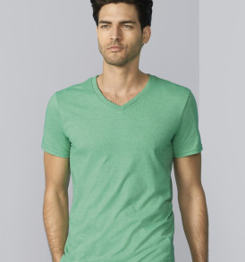 softstyle adult v neck t shirt