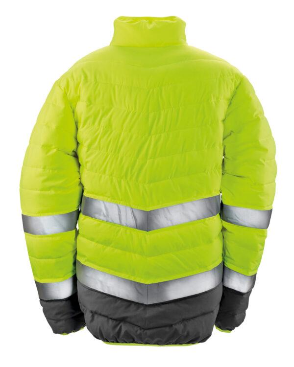 Men's Soft Padded Safety Jacket