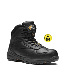 V12 Octane Leather Free Safety Hiker Boots