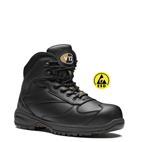 V12 Octane Leather Free Safety Hiker Boots