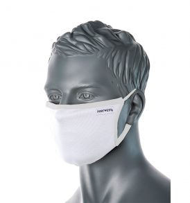Anti-microbial 3 ply Fabric Face Mask