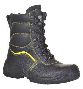 Steelite fur lined boots