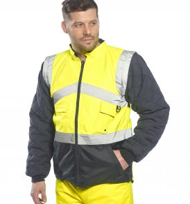 Hi-Vis Two Tone Reversible Jacket