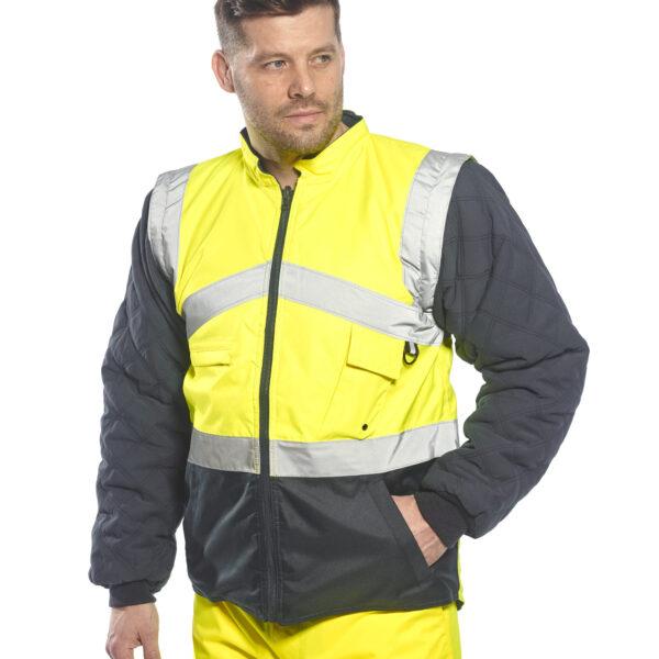 Hi-Vis Two Tone Reversible Jacket