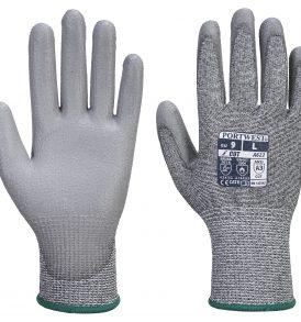 A622 - MR Cut PU Palm Gloves
