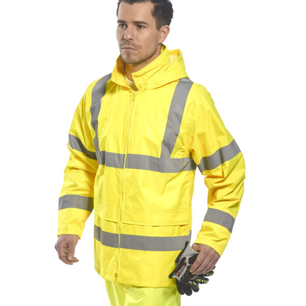 H440 Hi-Vis Rain Jacket
