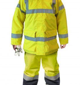 S778 - Bizflame Rain Hi-Vis Antistatic FR Jacket