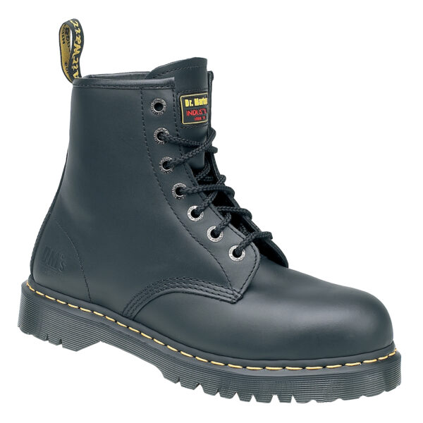 6601 Dr Martens Icon Black 7 Eyelet Safety Boots