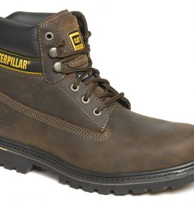 7041 Caterpillar Holton Brown Safety Boots
