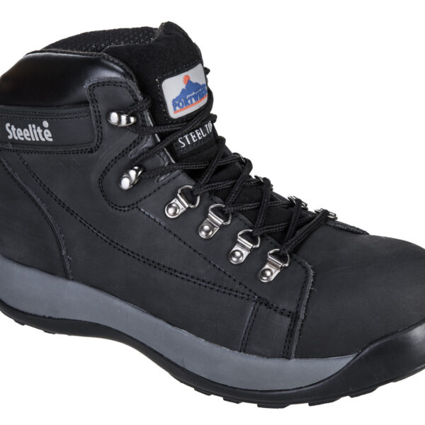 FW31 Steelite Mid Cut Nubuck Boots