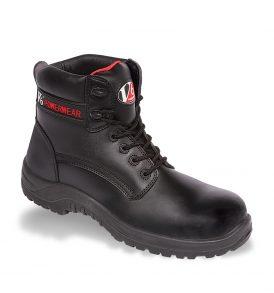 V12 Otter Black Metal-Free Derby Boots