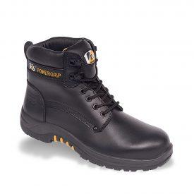 V12 Bison Black Metal-Free Derby Boots