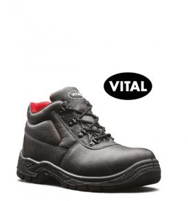 V12 Elk Black 4 D-Ring Boots